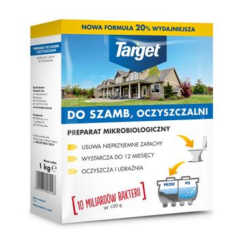 PREPARAT DO SZAMB I OCZYSZCZALNI TARGET 1 KG
