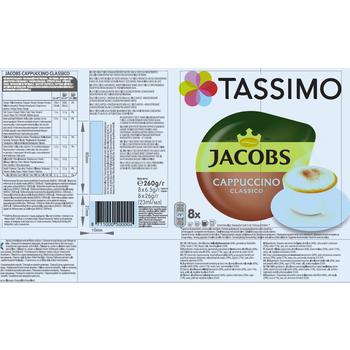 TASSIMO JACOBS CAPPUCCINO CLASSICO 260 G