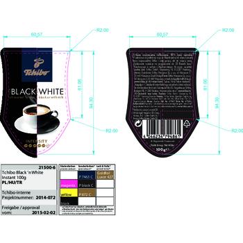 KAWA TCHIBO BLACK & WHITE 100G ROZPUSZCZALNA