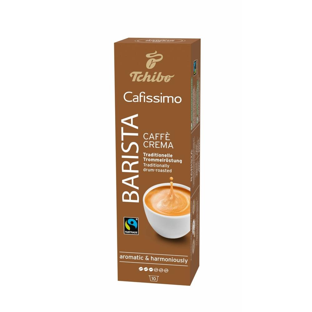 TCHIBO CAFISSIMO BARISTA CAFFE CREMA KAWA MIELONA W KAPSUŁKACH 8G X 10 KAPSUŁEK