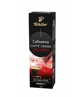 TCHIBO CAFISSIMO CAFFÈ CREMA COLOMBIA KAWA MIELONA W KAPSUŁKACH 8G X 10 KAPSUŁEK