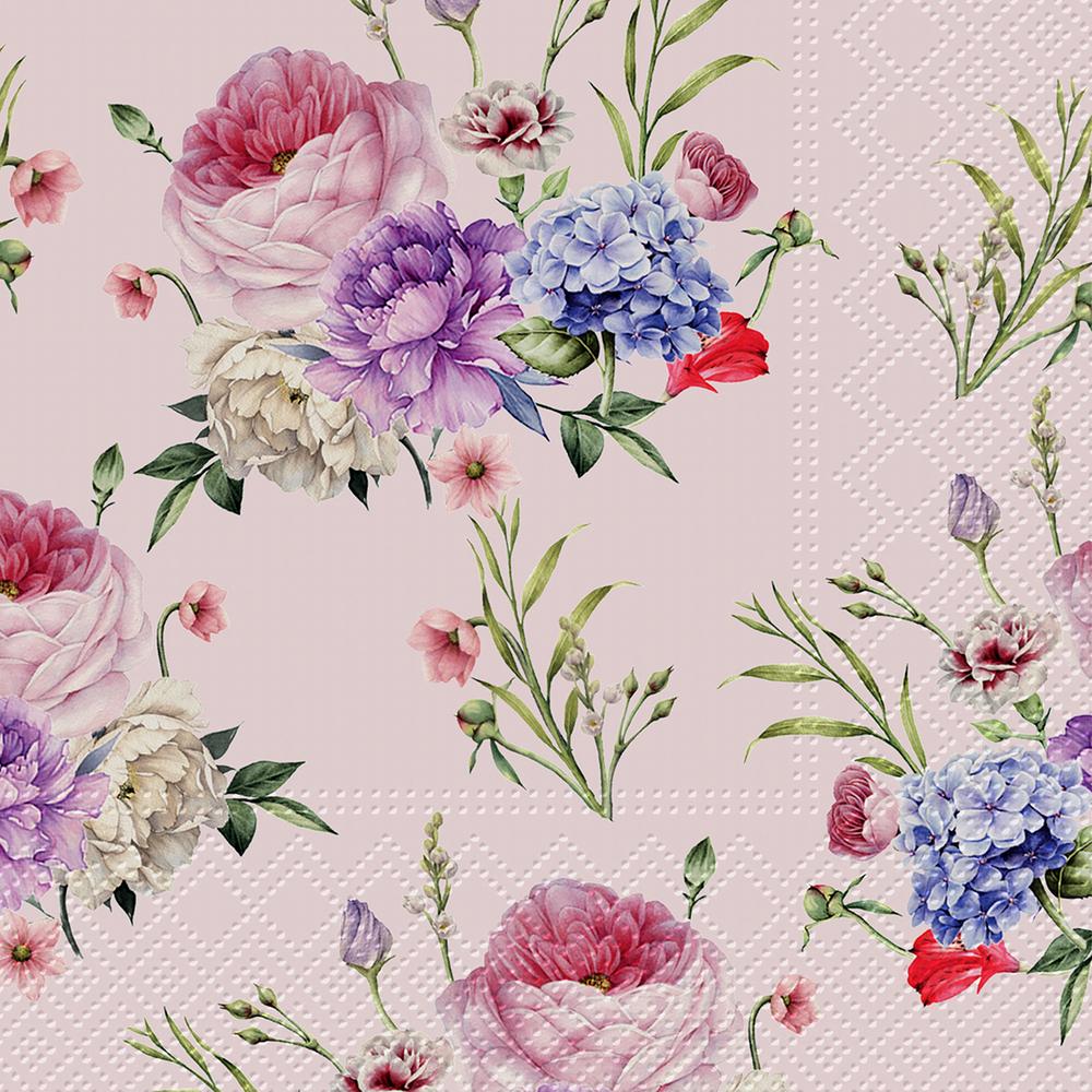 Serwetki tapisserie rose serwetki tat 3 warstwowe 33x33cm sk adane 1 4 20szt w paczce - Tapisserie capitonnee rose ...