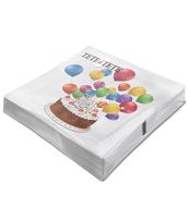 SERWETKI TAT SWEET CAKE, SERWETKI TAT 3-WARSTWOWE 33X33CM SKŁADANE 1/4 20SZT. W PACZCE