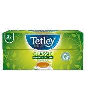 HERBATA TETLEY CLASSIC ZIELONA 25 TOREBEK X 1,5G