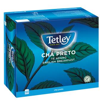 HERBATA TETLEY ENGLISH BREAKFAST 100 TOREBEK X 1,5G W KOPERTKACH