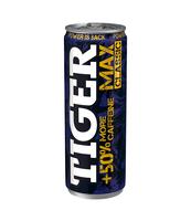 TIGER MAX ENERGY DRINK GAZOWANY NAPÓJ ENERGETYZUJĄCY 250 ML