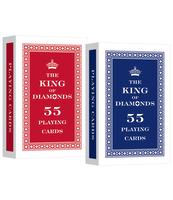 KARTY 55 LISTKÓW KING OF DIAMONDS TREFL