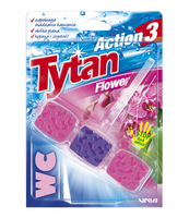 KOSTKA TOALETOWA WC TYTAN ACTION 3 FLOWER 45G