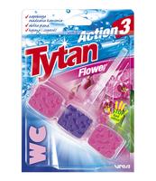 KOSTKA TOALETOWA WC TYTAN ACTION 3 FLOWER 45G