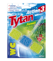 KOSTKA TOALETOWA WC TYTAN ACTION 3 FOREST 45G