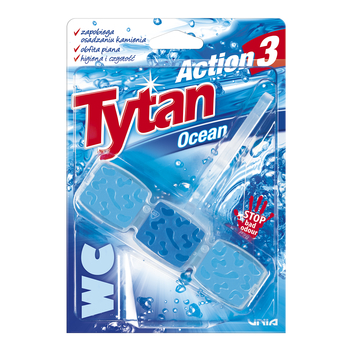 KOSTKA TOALETOWA WC TYTAN ACTION 3 OCEAN 45G