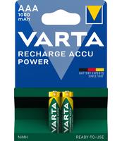 AKUMULATORKI VARTA RECHARGE ACCU POWER 1000 MAH AAA 2 SZT.