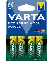 AKUMULATORKI VARTA RECHARGE ACCU POWER 2600 MAH AA 4 SZT.