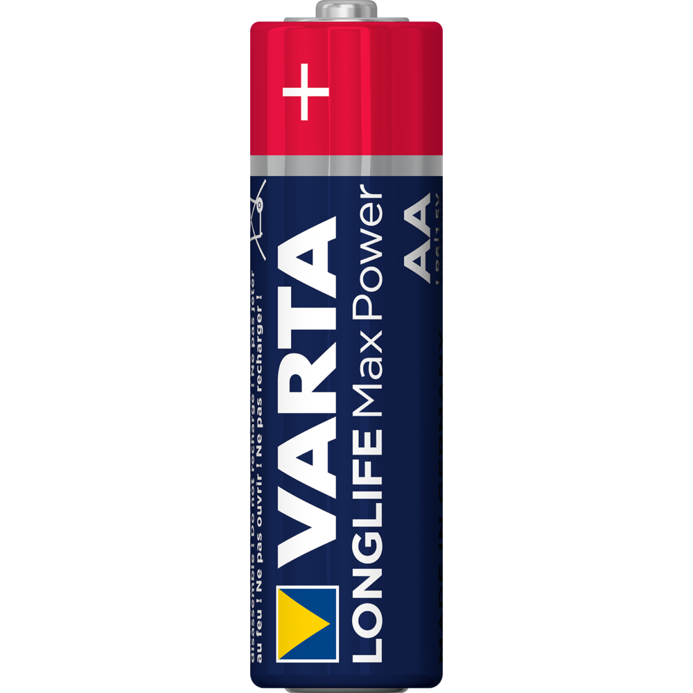 BATERIA VARTA LONGLIFE MAX POWER LR06 AA BLI4