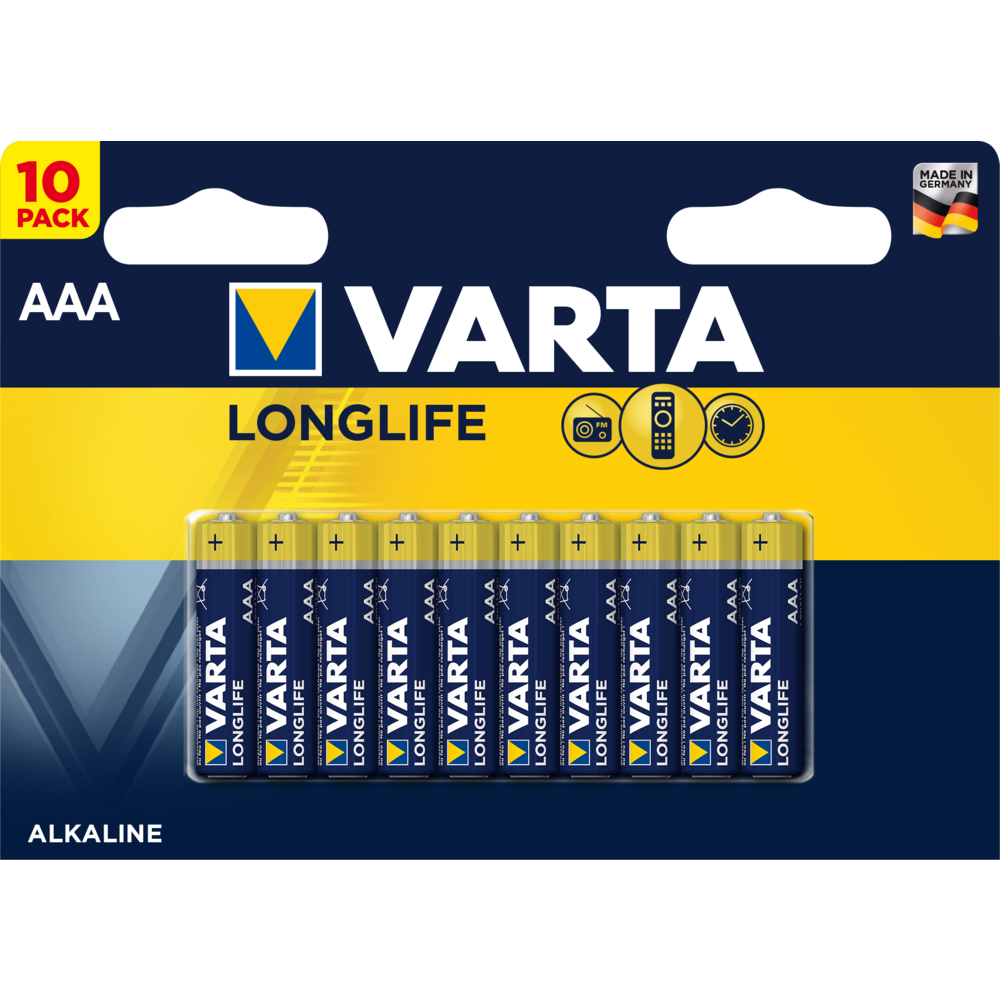 BATERIE VARTA LONGLIFE AAA BLI10