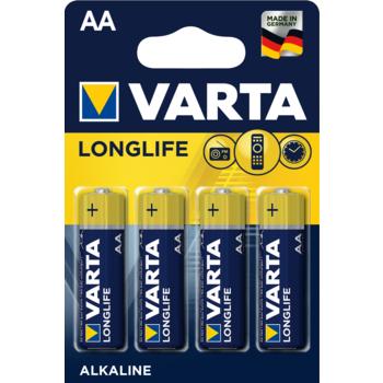 BATERIE VARTA LONGLIFE LR6 AA BLI4