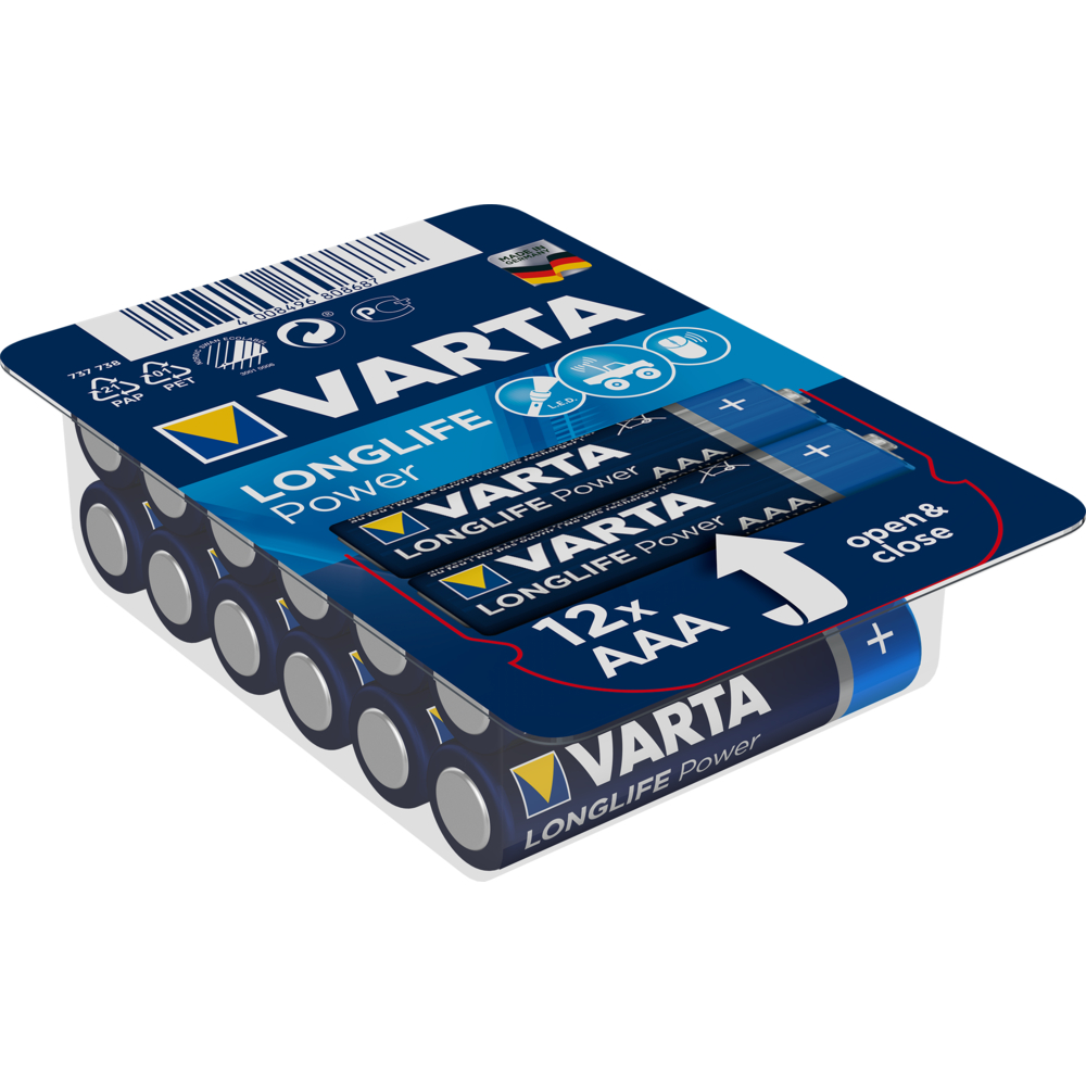 BATERIE VARTA LONGLIFE POWER AAA BOX12