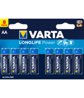 BATERIE VARTA LONGLIFE POWER AA BLI8