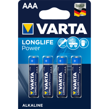 BATERIE VARTA LONGLIFE POWER LR03 AAA BLI4