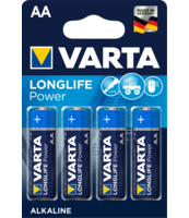 BATERIE VARTA LONGLIFE POWER LR06 AA BLI4