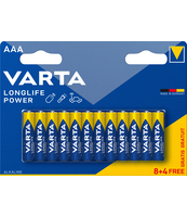BATERIE VARTA LONGLIFE POWER AAA 8SZT+4