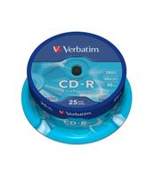 PŁYTA CD-R VERBATIM 700MB 52X DATALIFE CAKE BOX