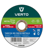 TARCZA TNĄCA DO METALU 115 X 1.5 X 22.2 MM