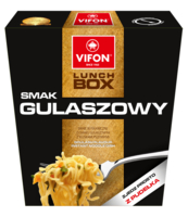 LUNCH BOX GULASZOWY 80G KLUSKI