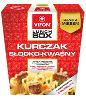 LUNCH BOX KURCZAK SŁODKO-KWASNY 177G VIFON