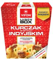 LUNCH BOX KURCZAK W STYLU INDYJSKIM 179G VIFON