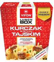 LUNCH BOX KURCZAK W STYLU TAJSKIM 179G VIFON
