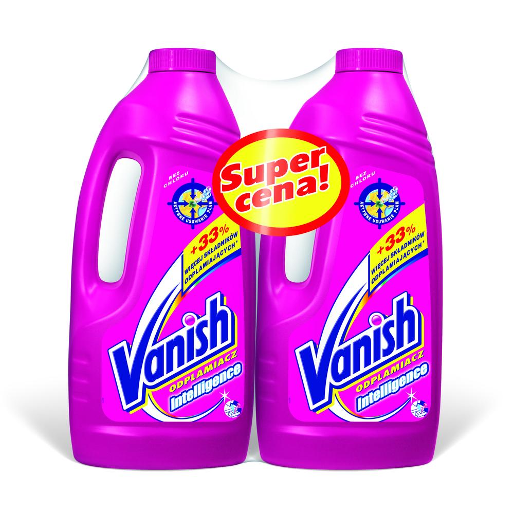 VANISH REGULAR 2L+REGULAR 2L SUPER ZESTAW