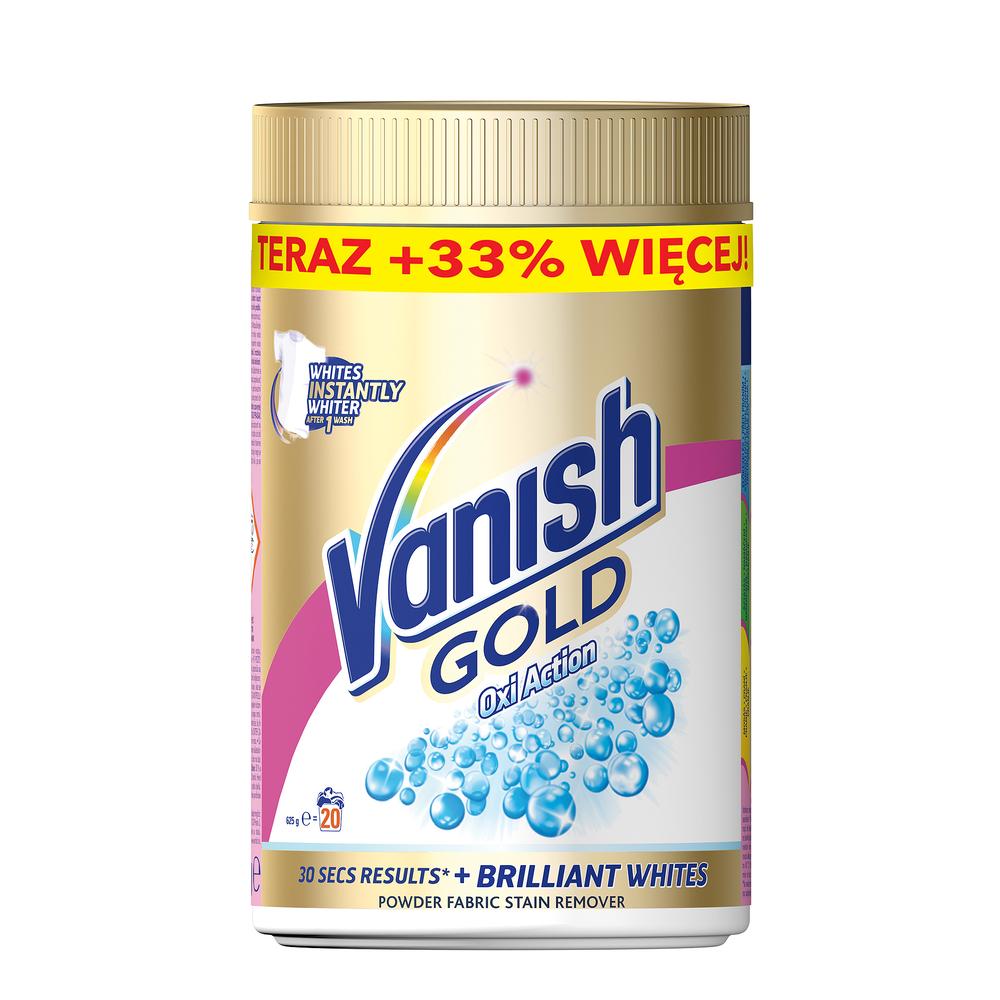 VANISH GOLD WHITE PROSZEK 625G