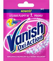 VANISH OXI ACTION PINK ODPLAMIACZ DO TKANIN W PROSZKU 30G