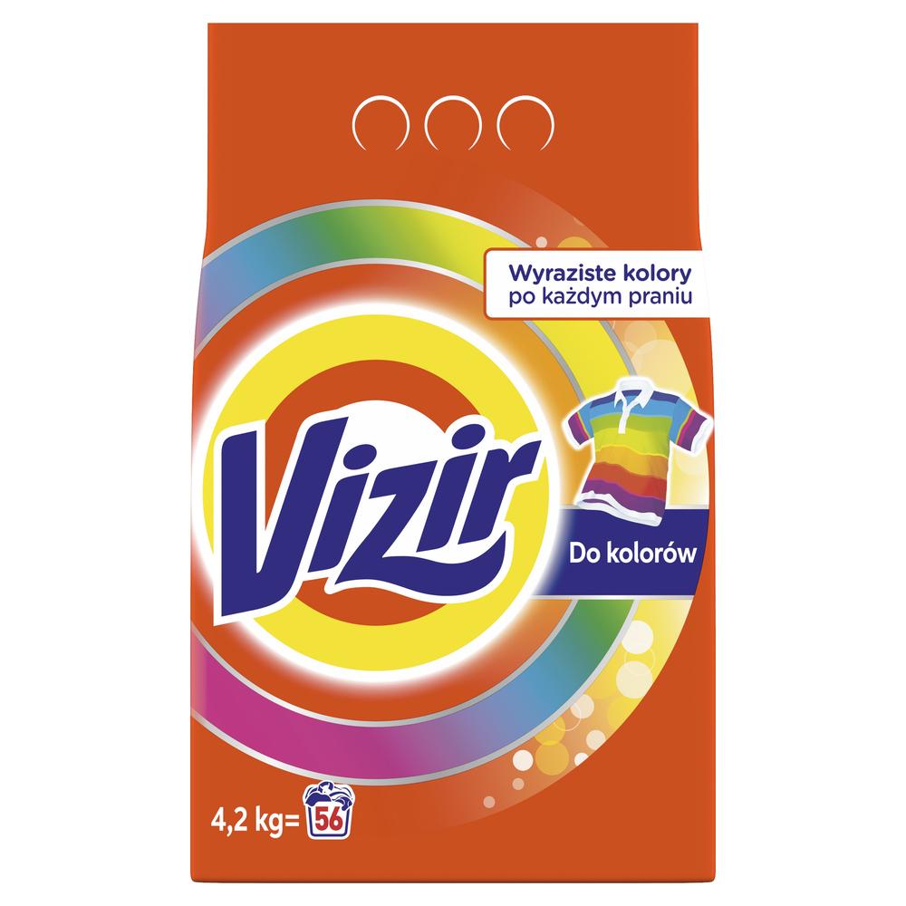 VIZIR REGULAR DAZZLING WHITES PROSZEK DO PRANIA 4,2KG, 56 PRAŃ
