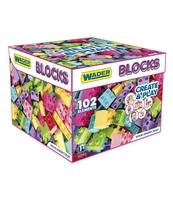 KLOCKI BLOCKS CREATE&PLAY PINK