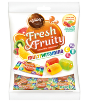 WAWEL GALARETKI FRESH & FRUITY MULTIWITAMINA 160G