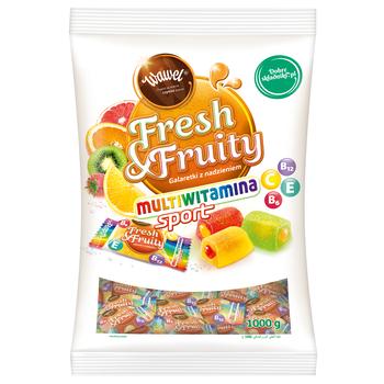 WAWEL GALARETKI FRESH & FRUITY MULTIWITAMINA 1KG