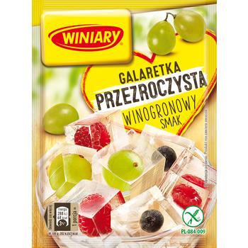 WINIARY GALARETKA PRZEZROCZYSTA WINOGRONOWY SMAK 71 G