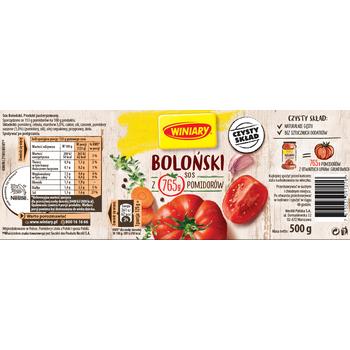 WINIARY SOS BOLONSKI 500G