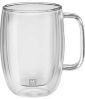 SZKLANKA LATTE MACCHIATO ZWILLING DOUBLE WALL SORRENTO PLUS 450 ML