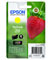 TUSZ EPSON 29 YELLOW CLARIA HOME