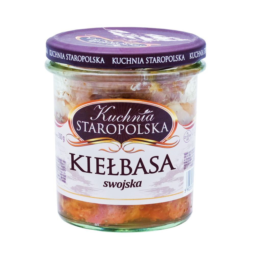 Kiełbasa Swojska Kuchnia Staropolska 300 G Selgros24pl