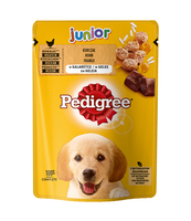 PEDIGREE JUNIOR KURCZAK, RYŻ W GALARETCE 100G